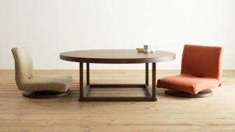 床のくつろぎを演出する和モダンなクッション・座椅子