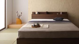 和室寝室を和モダンに格上げするフロア・ローベッド特集
